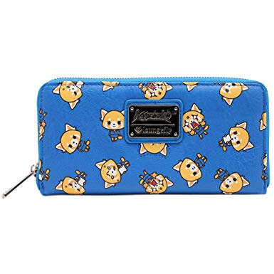 Loungefly x Aggretsuko Zip Around Wallet