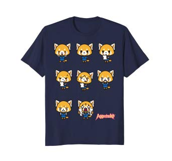 Aggretsuko Current Mood Tee Shirt