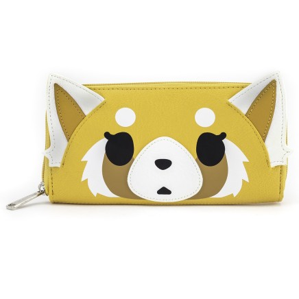 Loungefly Aggretsuko 2 Face Wallet (Multi, Standard)